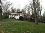hurricane sandy tree on house 2012